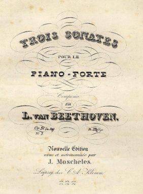 Beethoven's Original Score Opus 31