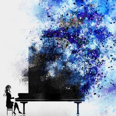 Image result for piano art tumblr