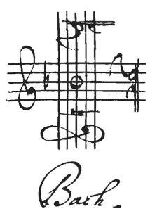 Johann Sebastian Bach Musical Signature